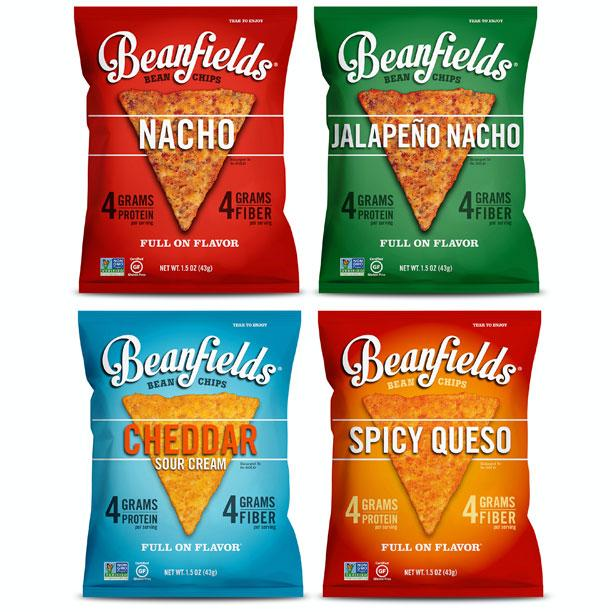 Bean Snacks: Beanfield's Bean and Rice Chips