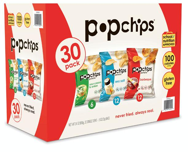 Popped Potato Chip: PopChips