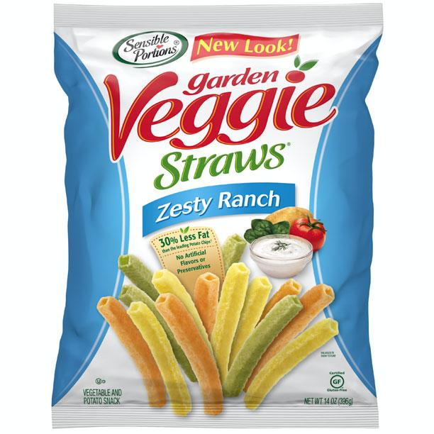 Veggie Chips: Sensible Portions