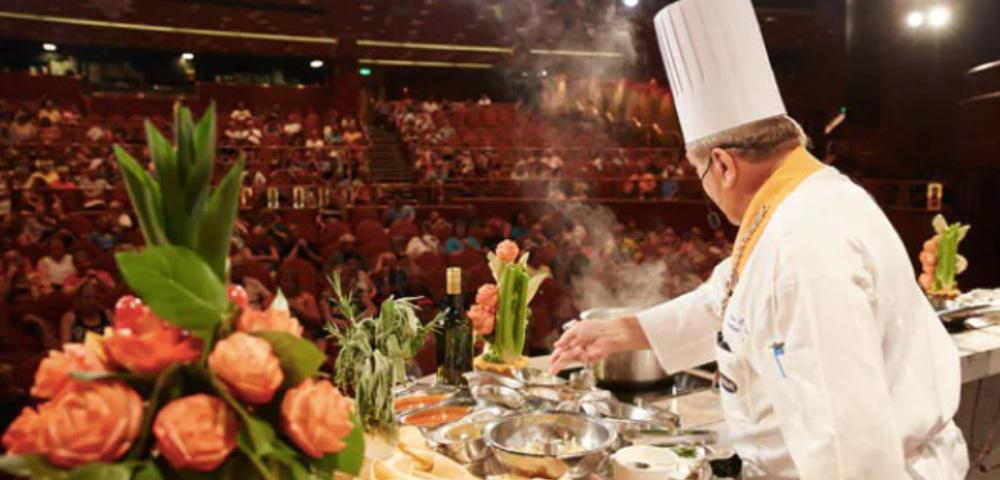 Culinary Demonstrations and Wine Tasting