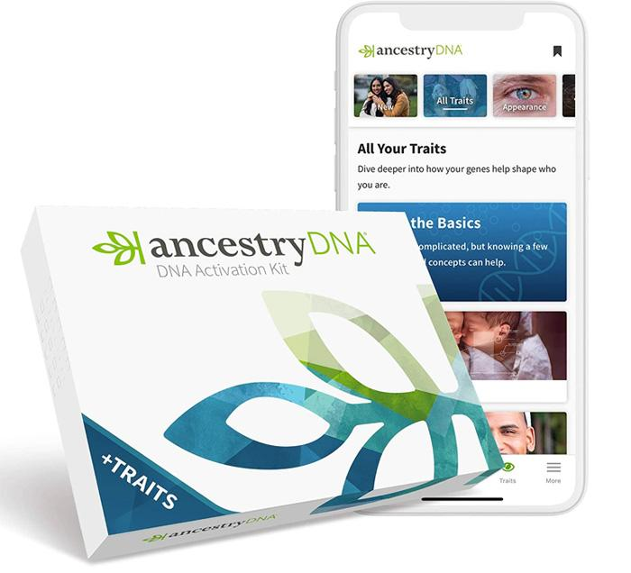 Ancestry DNA + Traits Test Kit
