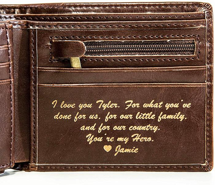 Personalized Men's Wallet