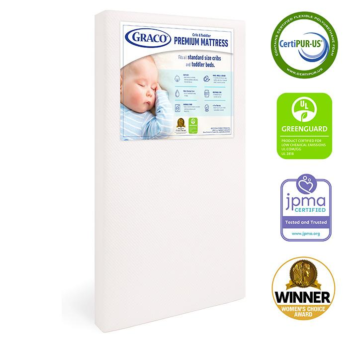 Graco Premium Foam Crib Mattress