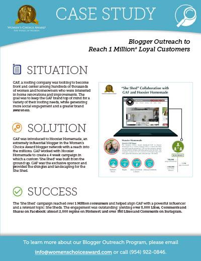 Blogger Outreach to Reach 1 Million+ Loyal Customer