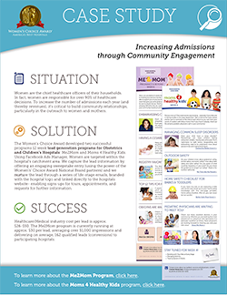 Increasing Admissions through Community Engagement